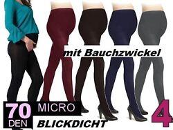 Warme & Bequeme Umstands-Strumpfhose BLICKDICHT Schwangerschaft Strumpfhose S-XL