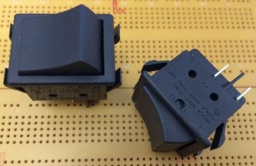 16A DPST 250Vac Latching Rocker Switch Panel Mount On-Off Cherry WR Multi Qty