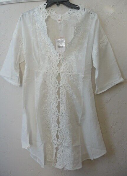 NWT Free People to the moon buttondown top Retail