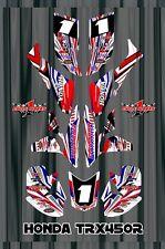 TRX 450R graphics Honda 450 ATV sticker kit FREE Semi Custom Service SE4