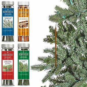 image is loading 6 scented christmas tree ornaments scentsicles fragrance sticks