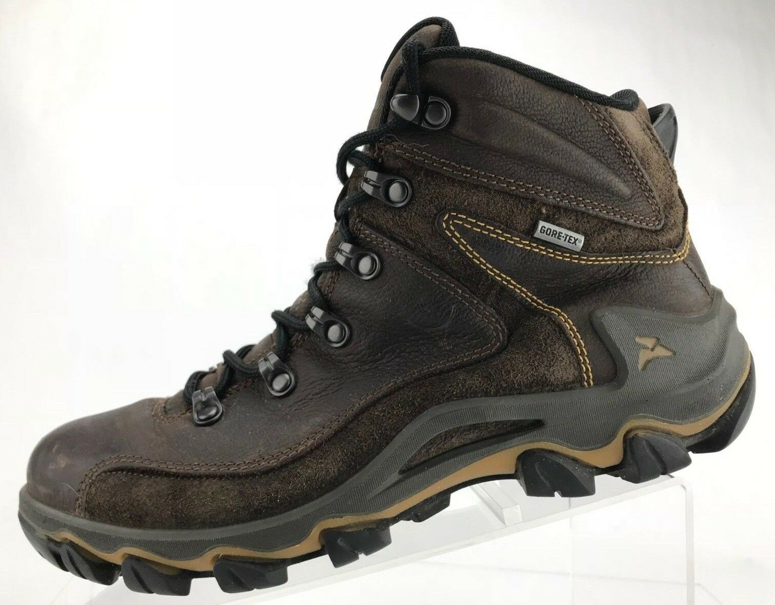 Ecco Hiking schuhe Receptor braun Leather Gore Tex Ankle Ankle Ankle Stiefel damen 40 9.9.5 80f6b3
