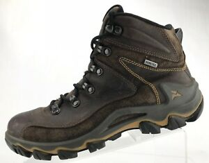 Details about Ecco Hiking Shoes Receptor Brown Leather Gore Tex Ankle Boots Women 40 9.9.5