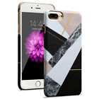 Marble Pattern Slim Hard PC Shockproof Back Case Cover For iPhone 6 6S 7 Plus
