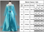 Kids-Belle-Elsa-Anna-Cosplay-Costume-Dress-Girls-Princess-Fairytale-Fancy-Dress thumbnail 30