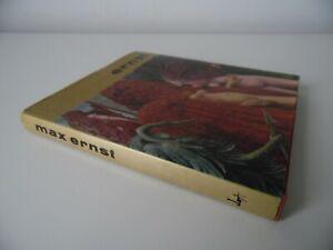 MAX ERNST ARTWORK HARDBACK BOOK 1975 1ST ED NY SURREALISM DADA + COLOUR PLATES