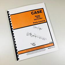 J I Case 1816 Uni Loader Skid Steer Parts Catalog Manual Book Tecumesh Engine