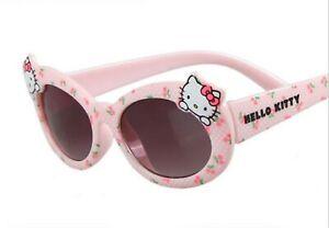 NEW-Kids-Girl-Children-Pink-Hello-Kitty-100-UV-protective-eye-sunglasses-Goggle