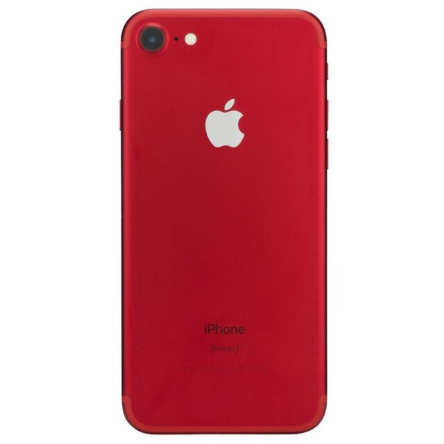 Apple iPhone 7 Red Smartphone AT&T Sprint T-Mobile Verizon or Unlocked 4G LTE