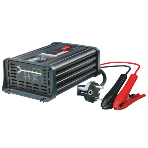 Batterieladegerät 12V 5A 7-Stufen IUoU Automatik Blei Nass Calcium VRLA AGM GEL
