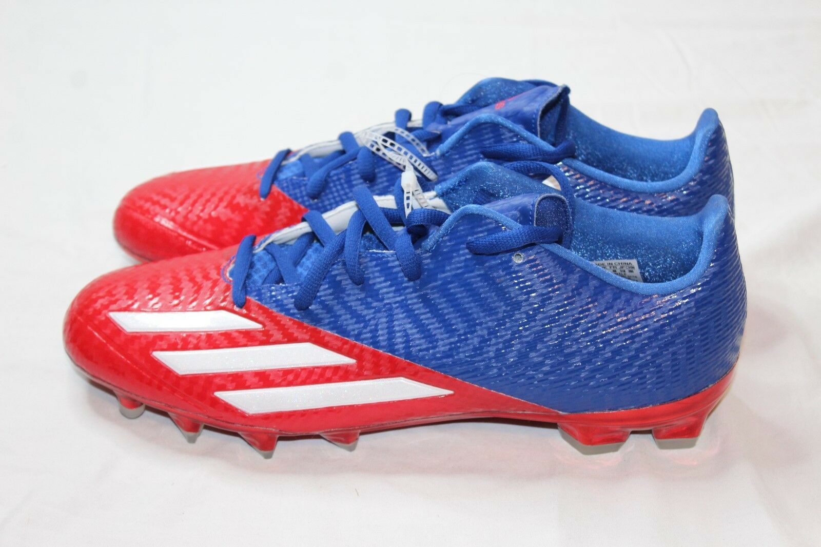 eccc241ef Adidas 5 Star 5.0 Red White   bluee Low Football Cleats AH1348 Size 13 New