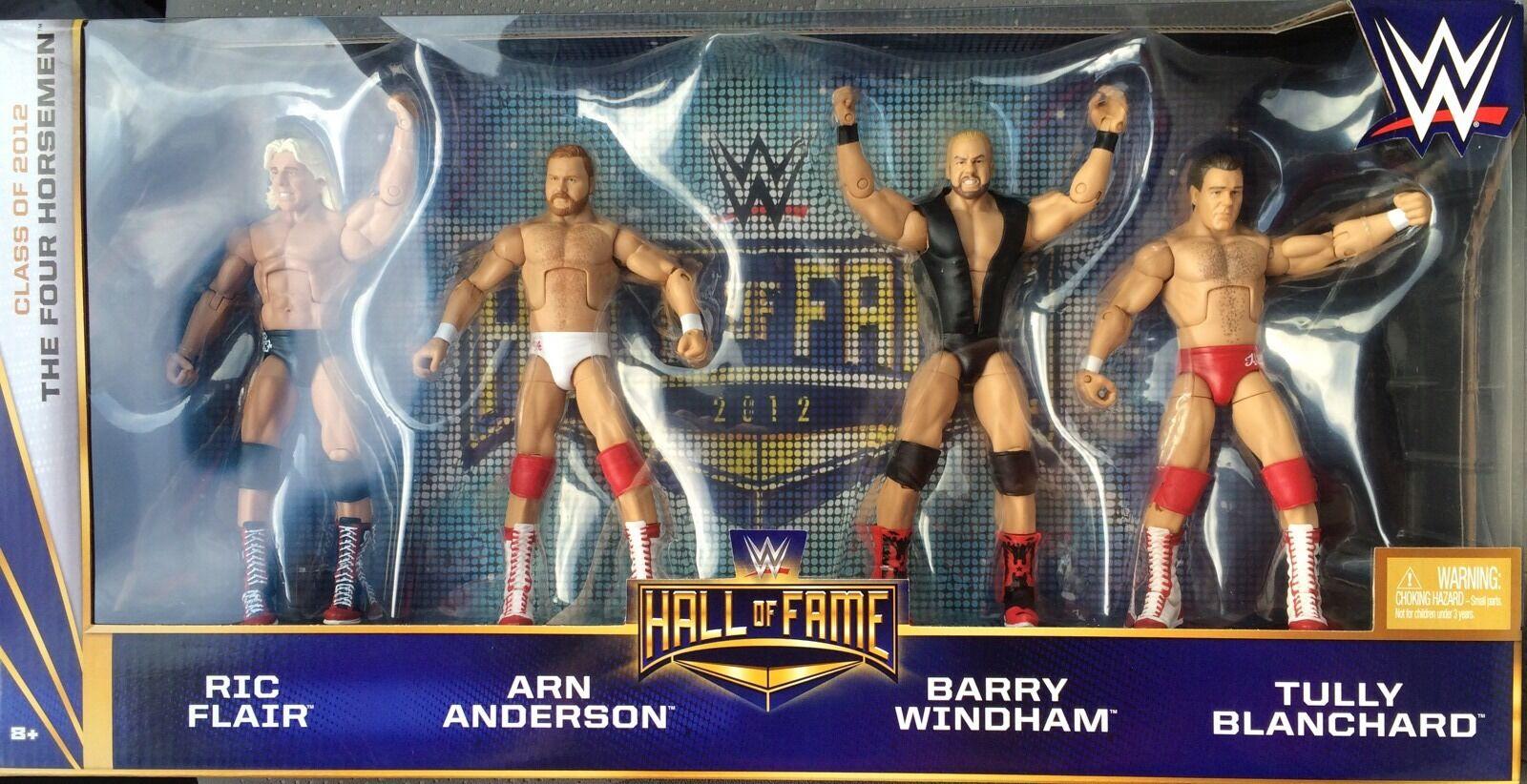 WWE Target Hall Of Fame Four Horsemen Set NEW MOC Mattel Flair Windham Blanchard