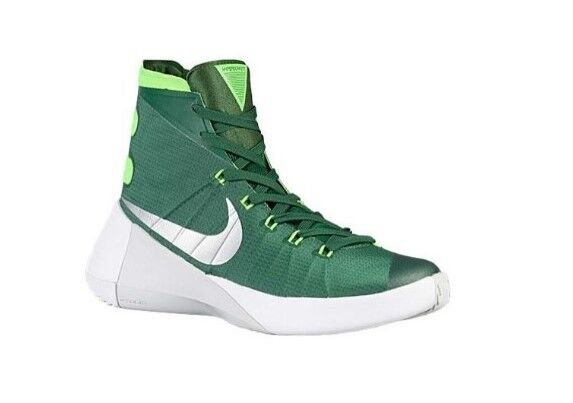 bc3e8ca75669 Nike Hyperdunk Gorge Green electric Green  Metallic Silver Sz 18 NWOB for  sale online