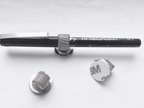 1 und 2 Loch Metall Stifthalter 3M selbstklebend aufkleben Nurse Buy 1-10