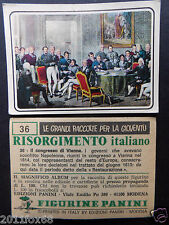 figurines figuren cromos picture cards figurine risorgimento italiano 36 panini
