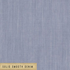 Art Gallery ~ Smooth Denim Infused Hydrangea Fabric / blue chambray dressmaking