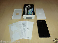 Apple iPhone 4 8GB Schwarz, in OVP, defekt zeigt nur iTunes Logo, für Bastler