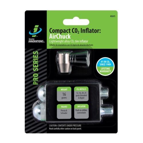 CO2 Pompe à air GENUINE INNOVATIONS pneu gonfler main vélo route de montagne