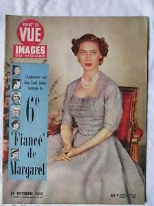 Point De Vue Images Du Monde 277 1953 6e Mistrust Of Margaret Ebay