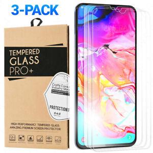 3-Pack-Tempered-Glass-For-Samsung-Galaxy-A71-A51-A70-A50-A30-A20-A10-A10e