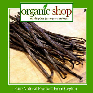 10-Bourbon-Vanilla-beans-Pods-Grade-B-Extract-Quality-4-034-5-034-inchers