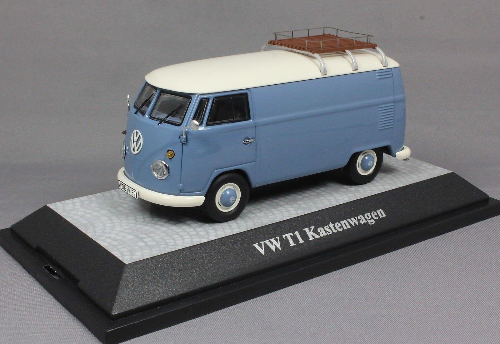 Premium ClassiXXs Volkswagen VW T1 Transporter in bluee 13800 1 43 NEW Ltd Ed 500
