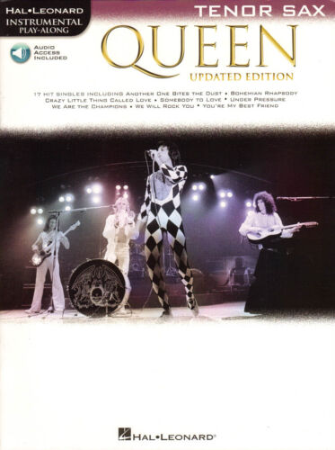Queen Greatest Hits Play-Along Tenor Sax Tenorsaxophon Noten mit Download Code