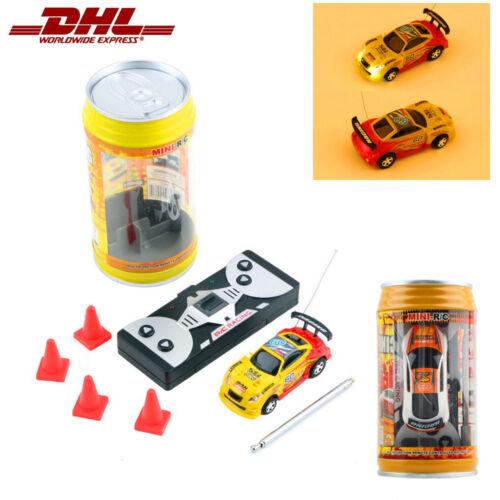 Ferngesteuertes Auto Mini RC Racing Car Spielzeug Rennauto Coladosen Geschenk G1