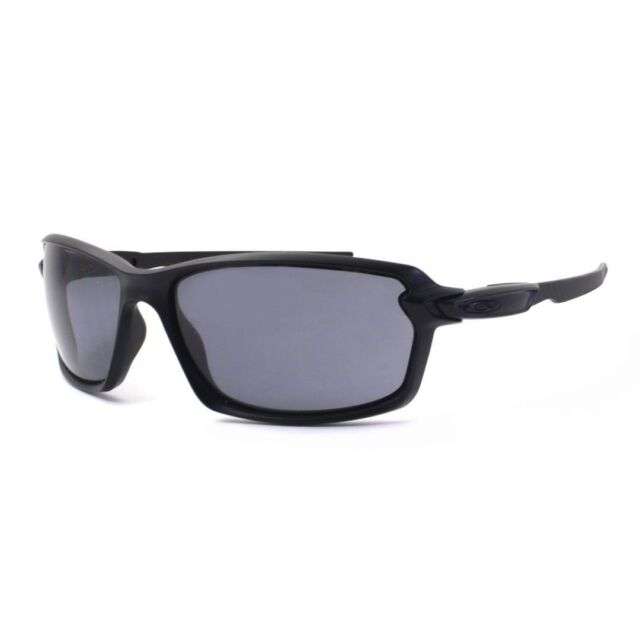Oakley OO 9302-01 CARBON SHIFT Matte Black with Grey Mens Sunglasses .