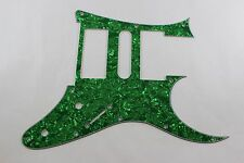 Green Pearl Pearloid Pickguard Fits Ibanez (tm) Universe UV UV777 7 String- HSH