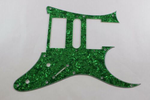 Green Pearl Pearloid Pickguard Fits Ibanez HSH tm Universe UV UV777 7 String