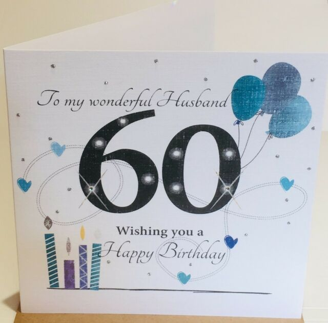 60th Birthday Card For Husband