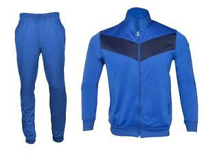 Homme Complet Survêtement Veste Et Pantalon Gym Wear Outdoor Sports Casual Wear-afficher Le Titre D'origine Beau Lustre