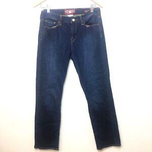 Lucky Brand Women/'s Sofia Straight Distressed Jeans S5F//460 Medium Wash
