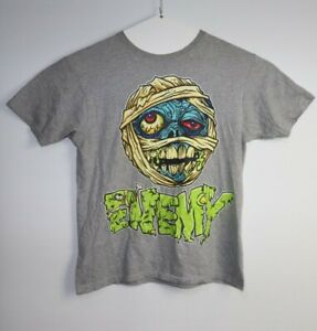 Enemy-Of-The-State-Monster-Mummy-Men-039-s-T-Shirt-Size-L