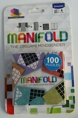 Paper Folding BRAINWRIGHT MANIFOLD Origami Mindbender 100 Puzzles Ages 10
