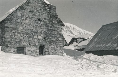 ALPE D'HUEZ c. 1940 - Chalet  Isère  - DIV 7492