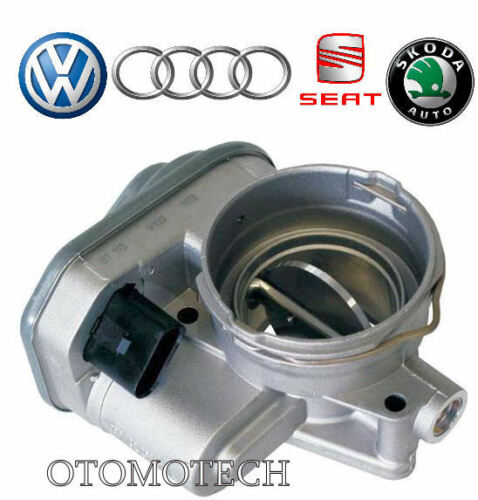 SUPERBA VW BORA Octavia Roomster NUOVO Pierburg THROTTLE BODY SKODA Fabia
