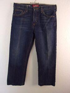 Arizona-Boys-Jeans-Husky-14-Dark-Blue-Denim-100-Cotton-Adjustable-Waistband