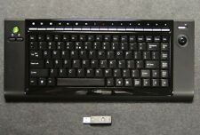 BTC 9039URF Wireless RF Keyboard (with Trackball) for Windows PCs LOT OF 10