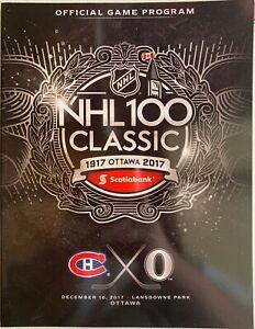 2017-NHL-100-CLASSIC-MONTREAL-CANADIENS-OTTAWA-SENATORS-PROGRAM