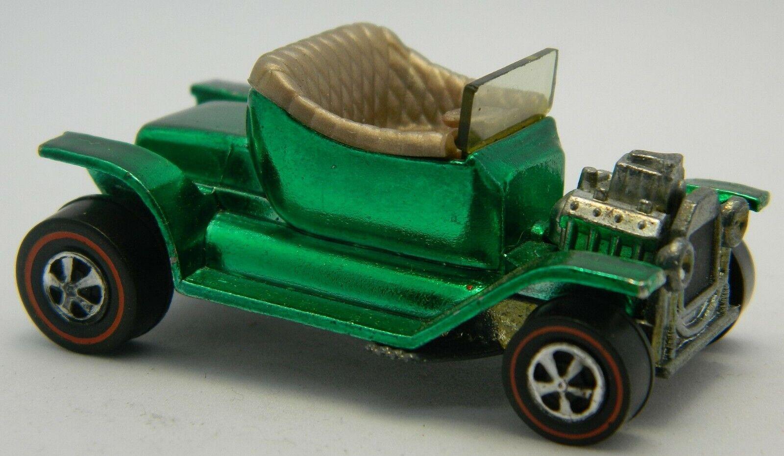 Hot Hot Hot Wheels Redline HOT HEAP Spectraflame Metallic Green BIN Fast FREE Shipping  dfc6ad