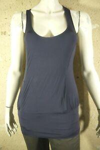 STELLA-MC-CARTNEY-pour-ADIDAS-Taille-38-Superbe-haut-top-debardeur-violet-femme