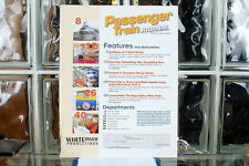 Passenger Train Journal Mag Vol 34 No 1 (2011-1) Issue 246 Missing Front Cover