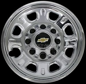 4 Chevy Silverado 2500 3500 Hd 18 Quot 8 Lug Chrome Wheel