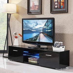 Delicieux Image Is Loading High Gloss 63 039 039 TV Stand Unit