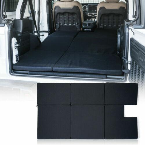 Black NitePad Premium Portable Sleeping Pad Cushion for 18-19 Jeep Wrangler