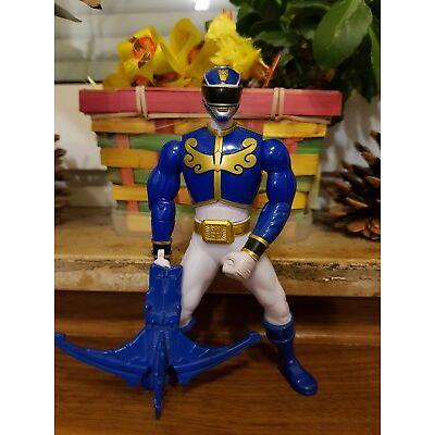 Power Rangers. SUPER SAMURAI,BATTLE MORPHIN RANGER,Modell 31922,Actionfigur,blau