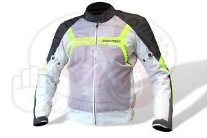 Giubbotto-FES-donna-giacca-moto-Prexport-estiva-traforata-antiacqua-giallo-Flou