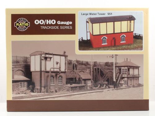 RATIO 551 OO SCALE Ratio Large Water Tower Kit